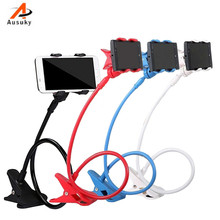 New 360 Degree Roating Flexible Phone Holder Stand For Mobile Long Arm Holder Bracket Support For Bed Desktop Tablet -29(China)