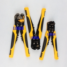 HS-D1 AWG24-10 (0.2-6.0mm2 ) design Multi functional Cable wire Stripping Cutting  Crimping tools Wire stripper LUBAN