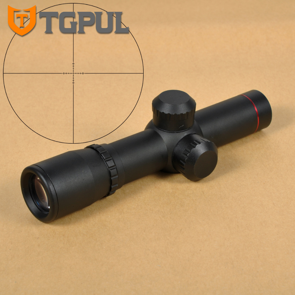TGPUL Tactical Optic Sight Aim Device Hunting Scope 4.5X20 Mil-Dot  Riflescope With Flip-up Cover For Rifle Gun Hunting<br>