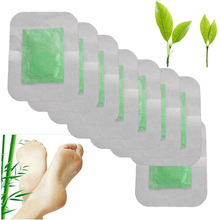 8Pcs Detox Foot Pads Chinese Medicine Patches With Adhesive Organic Herbal Cleansing  Improve Sleep Beauty Slimming Patch Z06308