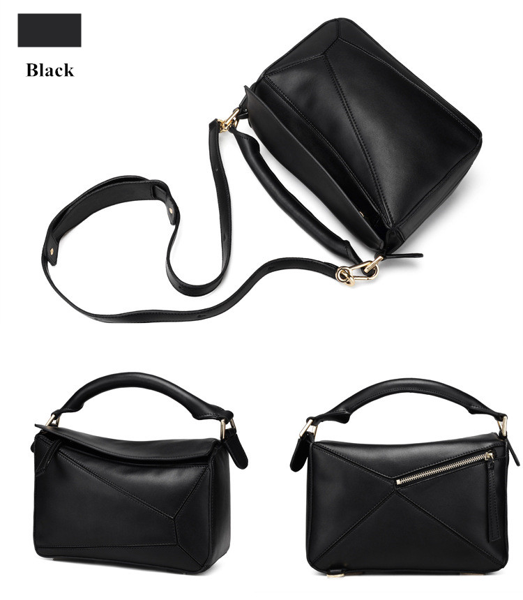 Luxury Handbag Women Bags Designer Inspired High Qyality Genuine Leather Shoulder Bag (8)