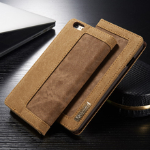 Original Leather Case Cover For Fundas Apple iphone 6 6S Case For coque iphone 6 6S Wallet Flip Cell Phone case With Card Holder(China)
