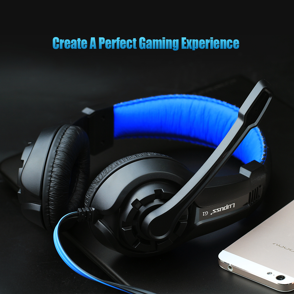 New G1 Stereo Surrounded Sound Game Headset Over-Ear Gaming Headphone Headband With Mic Volume Control For Computer PC Gamer<br><br>Aliexpress