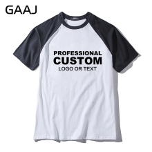 Professional Custom Print Logo Letter Diy Man & Women Unisex T-Shirt Male Funny Tshirts Men New High Quality T Shirt(China)