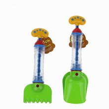 Cool gadgets play sand water A shovel/rake cylinder Amphibious two-way toy sand water spray gun outdoor summer toy beach toy