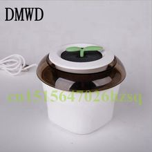DMWD 5-12V Vehicle Mini Portable Purifier Formaldehyde and PM2.5 removal Negative ion air purifier 3 Colors Oxygen bar