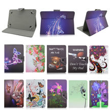 "7 inch Universal Tablet Case For Explay M1 Plus/Surfer 777 Leather Case cover For Android 7"" Inch Tablet PC+Center Film D492A"