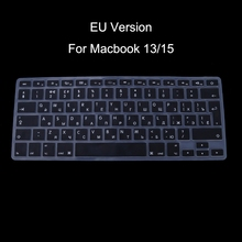 EU Version Russian Keyboard Silicone Skin Cover For Apple for Macbook Air Pro 13 15 - L059 New hot(China)