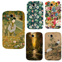 Fashional printed phone case cover for HTC Wildfire S G13 A510e colorful Hard plastic UV painting back cover full protection