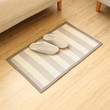 New Arrival Special Offer Mechanical Wash  Alfombra Rugs Carpets For Plaid Fashionable Bedroom Carpet Floor Mat