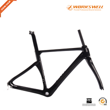 Manufacturer best price aero new bike frame high quality carbon frame in 2 years warranty(China)