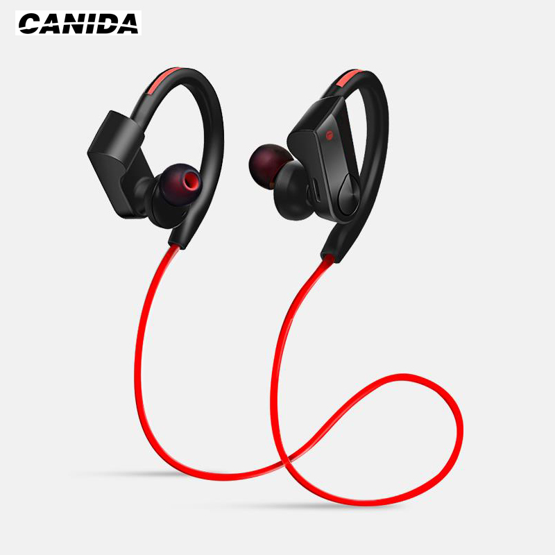 CANIDA Bluetooth Headset Wireless Headphone Bluetooth Earphones Sport Stereo Super Bass Earbuds With Microphone for phone iphone<br><br>Aliexpress
