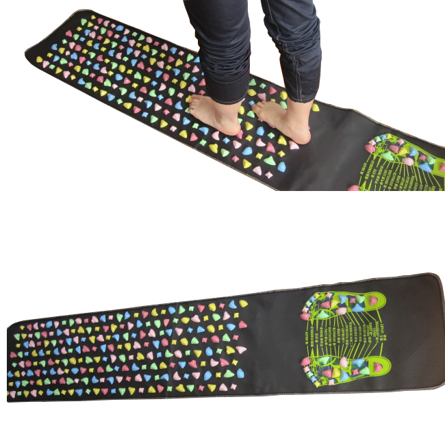 170*35cm Massage cushion Acupressure Mat Relieve Stress Pain Home Health Acupuncture   Feet Yoga Mat with Pillow<br>