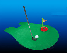 Toilet Golf Game Mini Golf Set Toilet Golf Putting Green Novelty Game For Men and Women
