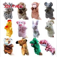 JOY MAGS Toys Finger Puppets 12 Animals Tiger Horse Mouse Goat Snake and so on
