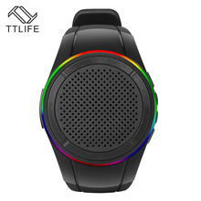 TTLIFE Sport Running Music Watch Bluetooth Bracelet Wristband with LED Speaker 4.Support FM Radio for IOS/Android Phones