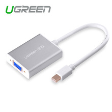 Ugreen Thunderbolt Mini DisplayPort Display Port DP To VGA Adapter Cable for Apple MacBook Air Pro iMac Mac