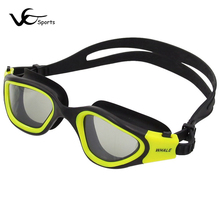Swimming goggles professional anti-fog UV arena swimming goggles man swim goggles eyewear adults pool accessories large frame