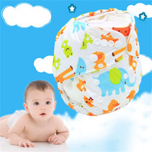 New Summer Baby Waterproof Washable Reusable Breathable Adjustable Baby Soft Cloth Diaper Baby Nappy For Baby Care(China)