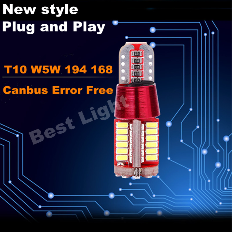 1X Plug &amp; Play Canbus T10 W5W  Samsung  LED Clearance Lamp Bulb Side Parking Light For BMW E36 E38 E39 E46 E53 E60 E63 E65 E66<br><br>Aliexpress