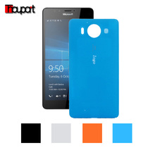 For Microsoft Lumia 950 Protector Candy color PC cases Battery case Battery cover Replace Original back cover For Microsoft 950
