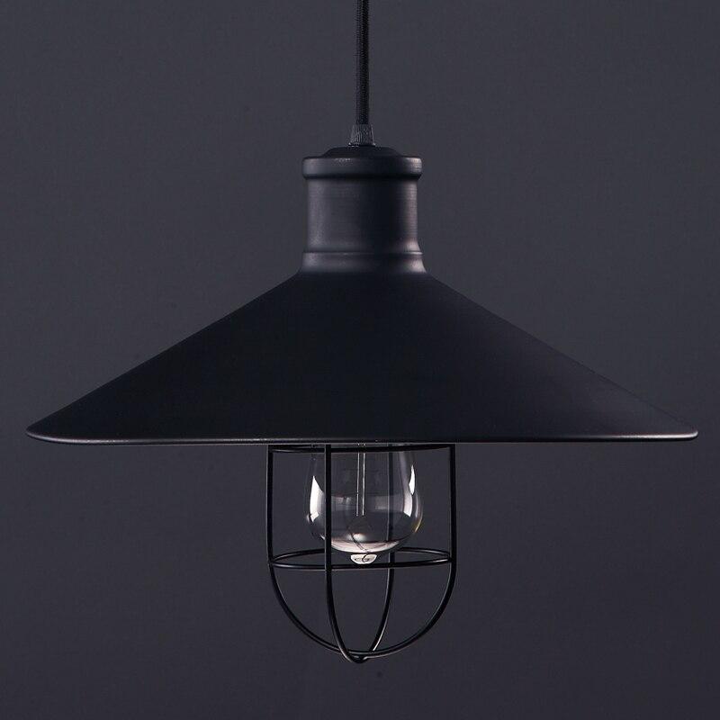Loft American Vintage Industrial Lighting Iron Lamp E27 base Pendant Light 110V or 220V Edison bulb coffee bar  Restaurant Decor<br>