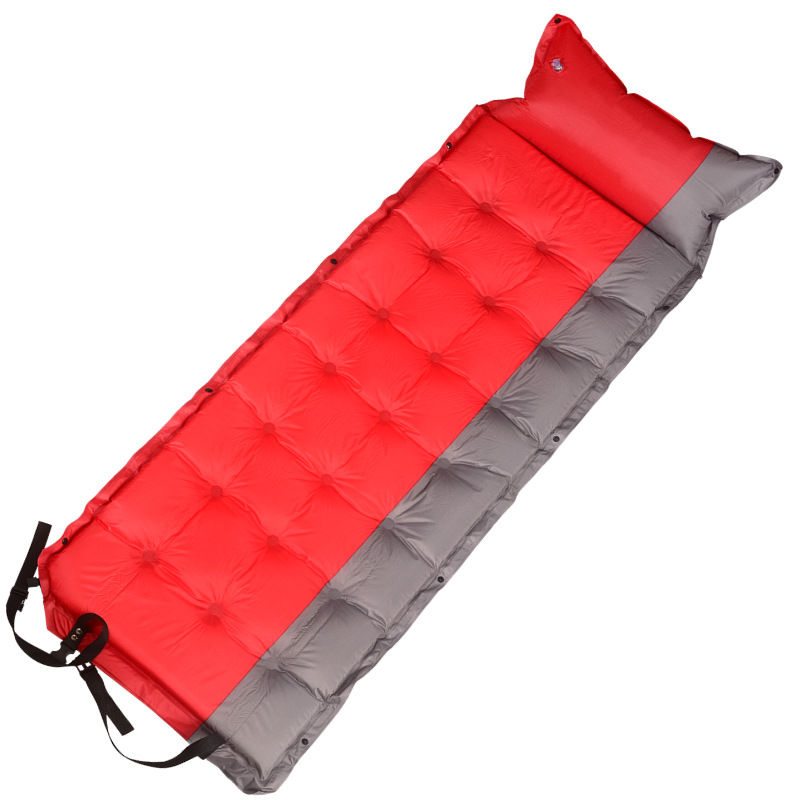 5mm Thicker Air mattress Portable Automatic Inflatable Cushion mat Outdoor Camping Travel single person Inflated cushion<br>