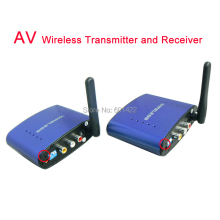 New 5.8Ghz 200meters sender Audio Video AV Wireless Transmitter and Receiver IR Remote Extender