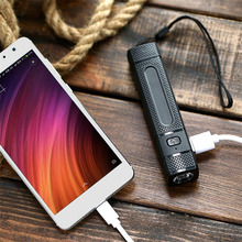 HT135 Power Bank 3000mAh External Battery Fast Powerbank Portable Charging For Mobile Phones With Compass LED Flashlight(China)