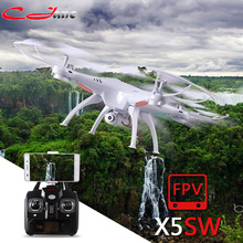 SYMA X5S X5SC X5SW FPV Drone X5C Upgrade 2MP FPV Camera Real Time Video RC Quadcopter 2.4G 6-Axis Quadrocopter RC Airplane toy(China)