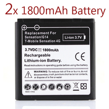 2 x 1800Mah Battery For HTC EVO 3D Sensation G17 Z710e Commercial Bateria For HTC G14,Sensation HTC G17,Z710e HTC Shooter