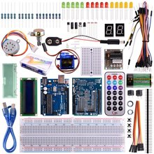Miroad K11 UNO R3 Project Super Starter Kit with Tutorials for Nano Micro Mega Wifi gsm with Screen Servo Motor Sensors