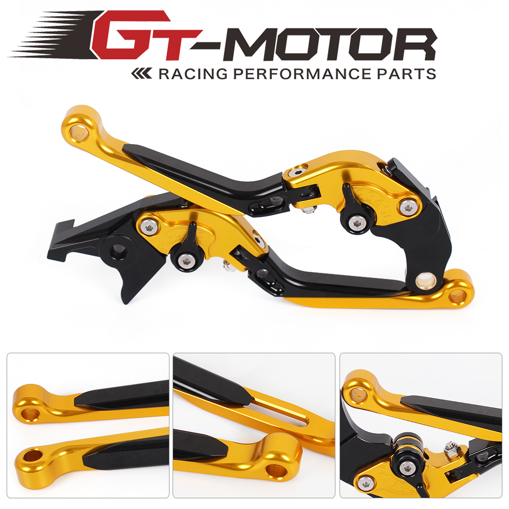 F-14 SV-6 Adjustable CNC 3D Extendable Folding Brake Clutch Levers For Suzuki GS500 89-08 GS500E 94-98 GS500F 04-09<br>