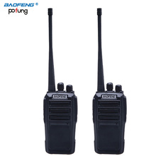 2PCS BaoFeng UV-6 upgrade CB radio wireless Portable WalkieTalkie Dual band Professional FM transceiver 2 way radio