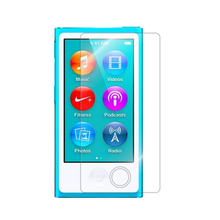 100pcs LCD screen film For Apple ipod nano 7 6 5 front clear screen protector