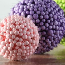 3 Colors New Holiday Party Decoration Foam Balls Decorative Craft Bubble Ball Gift DIY Home Supplies(China)