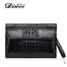 diwei crocodile men leather handbags high-capacity business casual men arm in arm with coach handbags(China)