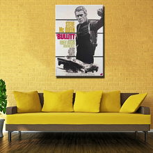 Large modern Police bulitt movie Wall poster oil painting  printed on canvas for home decoration wall art Unframed