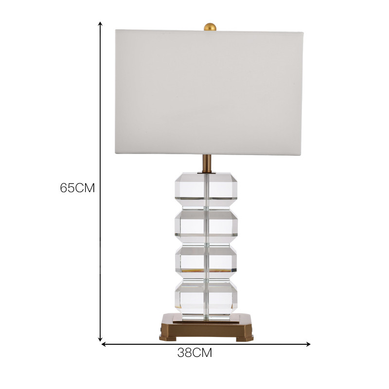 Hotel Crystal Table Lamp 4