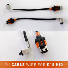 D1 cable wire harness for D1S D1R D1C Xenon HID headlight bulb D1S power cords cables for D1 HID ballast GLOWTEC
