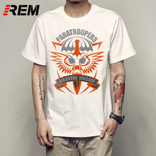 REM Stranger Things Print T Shirts Original Short Sleeve Printed Crew Neck American Eagle T Shirts For Men p531867(China)
