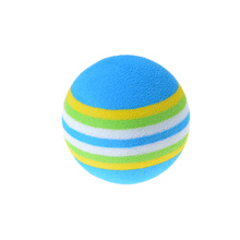3.5cm Kids Funny Toy Balls Rainbow Color EVA Material Ball Foam Sponge Children's Toys(China)