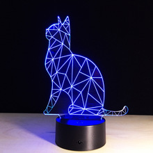 Novelty Led Usb 3d Lamp Creative Gifts For Valentines Day Acrylic Night Light Baby Night Lamp Wall Lights Battery Operated