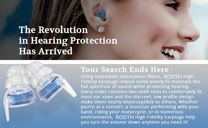 2 Pair High Fidelity Concert Earplug Silicone Ear plug Noise Reduction Musician Hearing Protection earbud for Motorcycle Drummer