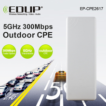 EDUP CPE Wireless WIFI Router WIFI Repeater Long Range 1KM 300Mbps 5ghz utdoor AP Router CPE AP Bridge Client Router Support