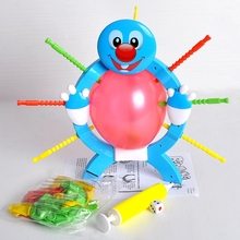LeadingStar Toys Boom Boom Balloon Poking Game Don't Blow It Kids Children Great Family Fun Toys Board Game Christmas Gifts zk25(China)