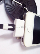 8Pin Female to 30Pin Male Adapter 30pin to 8pin And Sync Data charger for iPhone 4S iPad 3 iPod Touch 4 6 plus(China)
