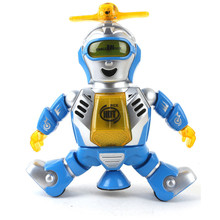 HIINST Best seller Factory Price Electronic Walking Dancing Smart Space Robot Astronaut Kids Music Light Toys wholesale S7(China)