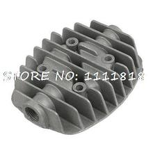"Air Compressor Spare Parts Metal 0.6"" Threaded Cylinder Head"