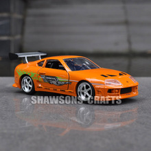 JADA FAST FURIOUS DIECAST MODEL CAR TOYS 1:32 TOYOTA SUPRA VEHICLE REPLICA